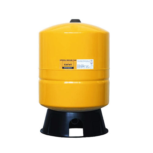 "Davey Supercell 80L Pressure Tank Vessel Free Standing 1600Kpa 1"" Inlet"