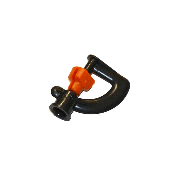 Modular Micro Sprinkler Big Swivel Orange 105LPH Head Only