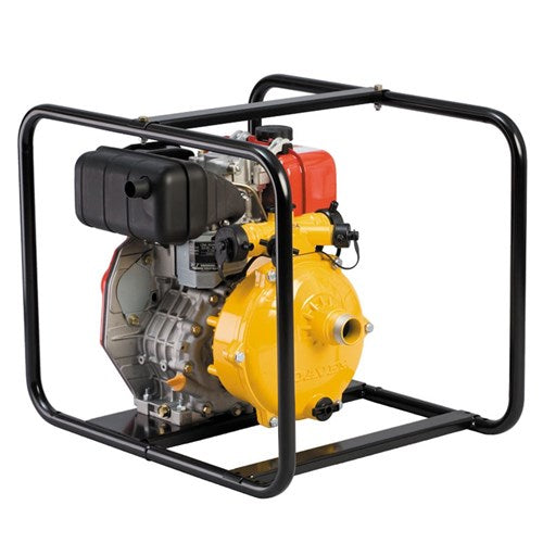 "Davey Firefighter Pump Single Stage L70N Yanmar 1.5"" In & Out (4 Outlet) Deluxe Frame"