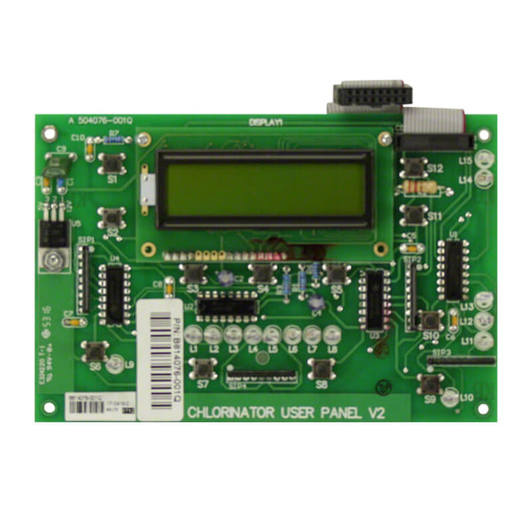 Hurlcon Pcb Chlorinator User Panel