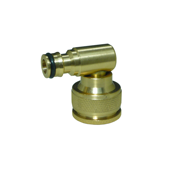 Holman 12 mm Brass Swivel Tap Adaptor