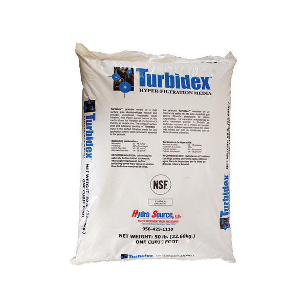 Turbidex - 50Lbs Bag 1 Cubic Foot