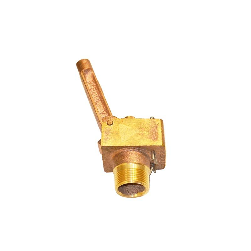 "32mm Brass Float Valve L/P C/W 7"" Plastic Float"