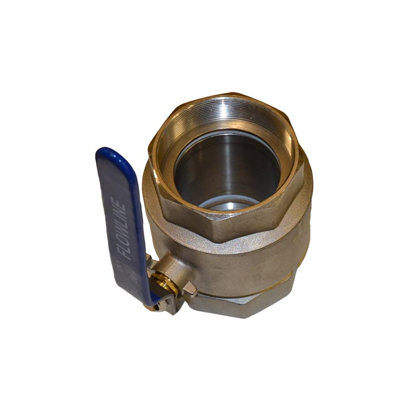 Brass Ball Valve 1 1/2""