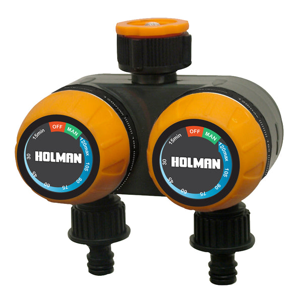 Holman Dual Outlet Manual Tap Timer
