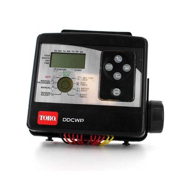 Toro Waterproof Battery Operated DC Controller Sensor Ready 6 Station
