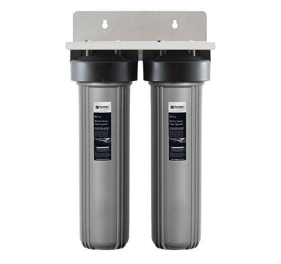 Puretec Ecotrol Whole House Dual Water Filter System