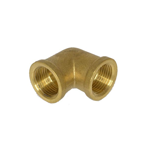 Brass Threaded Female Elbow 1/4""