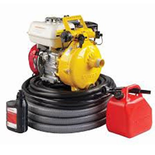 Davey Firefighter Pump Twin Stage GX200 Honda wtih Hose Kit