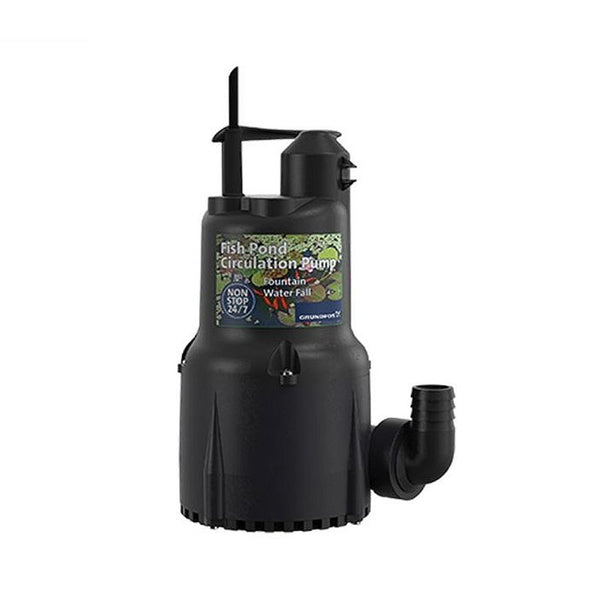 Grundfos Manual Operation Fish Pond Circulation Pump 300W