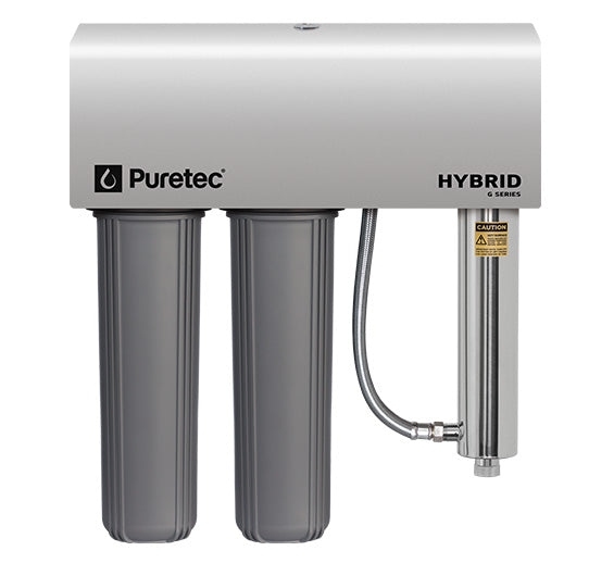 Puretec Hybrid G7 High Flow Filtration and UV Water Treatment System