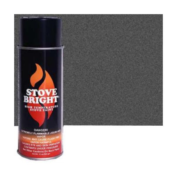 Castworks Stove Bright Paint Charcoal