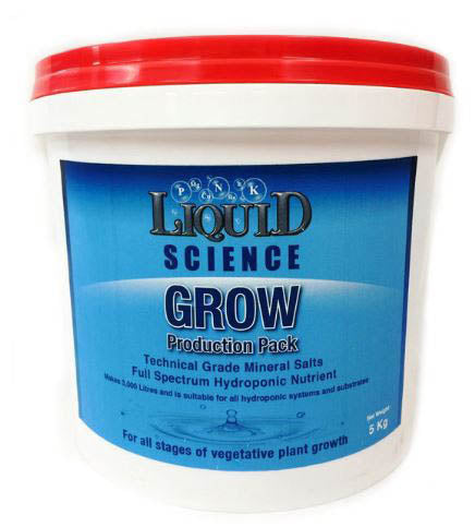 Liquid Science Powdered Nutrient 5kg Grow A&B