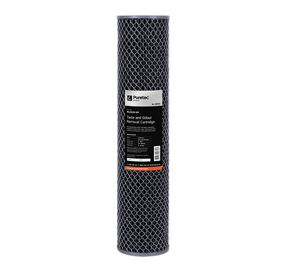"Puretec Multi Purpose Carbon Large Diameter Filter Cartridge 20"" 10 Micron"