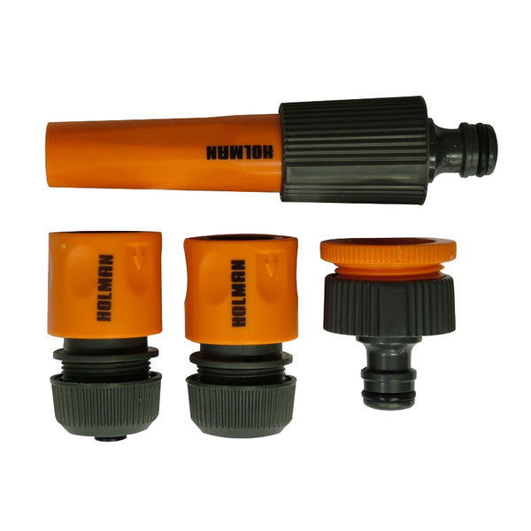 Holman Hose Nozzle 4 piece set 12mm