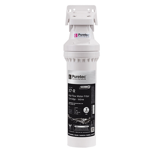 Puretec Puremix X7 High Flow Inline Water Filter 1 Micron