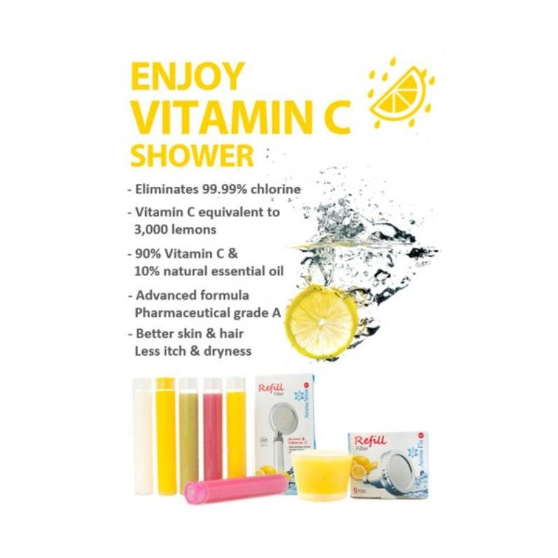 Quoss Aroma Sense Q Vitamin C Filter 6 Pack - Lemon