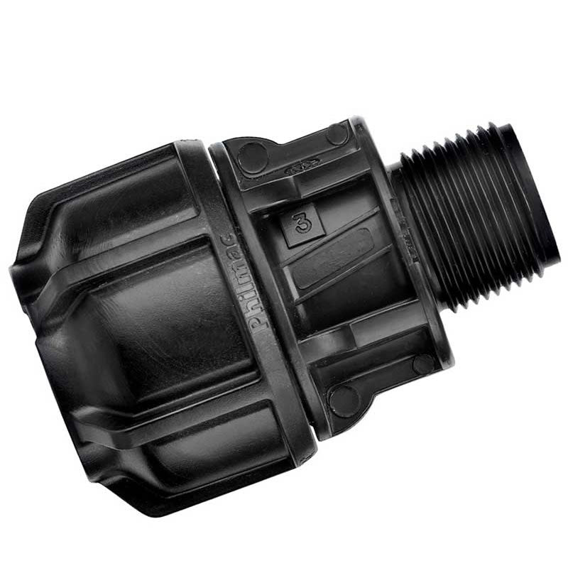 "Philmac UTC End Connector 21-27 mm x 3/4"" MBSP"