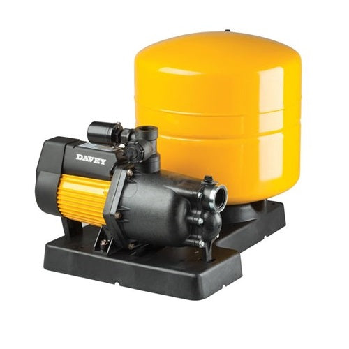 Davey Dynajet Pump with 40 Lt Pressure Tank and Base