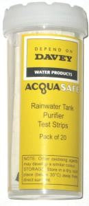 Davey Acquasafe Test Strips Pkt of 20