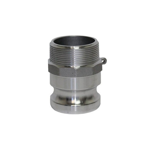 Camlock Aluminium Adaptor Male x Mi BSP 80mm