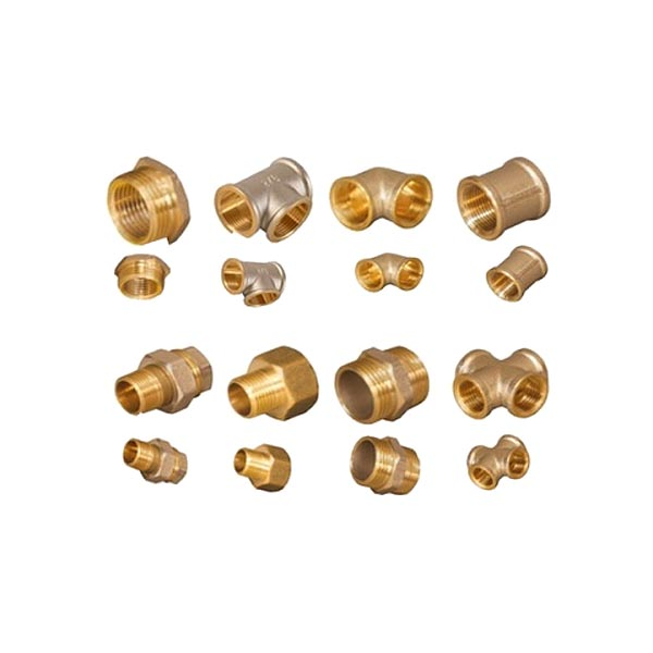 Brass Threaded Nipple 25mm x 15mm