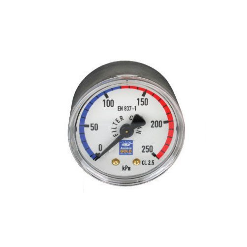 Pressure Gauge Centre Back Mount