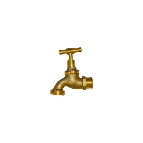 Hose Cock Brass Dr 20mm