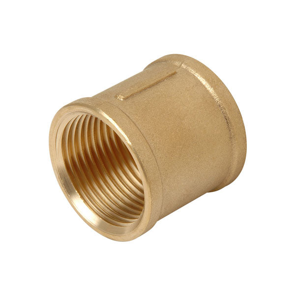 Brass Threaded Socket 40mm