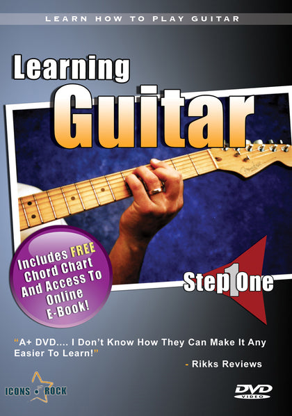 Learn How To Play Guitar DVD
