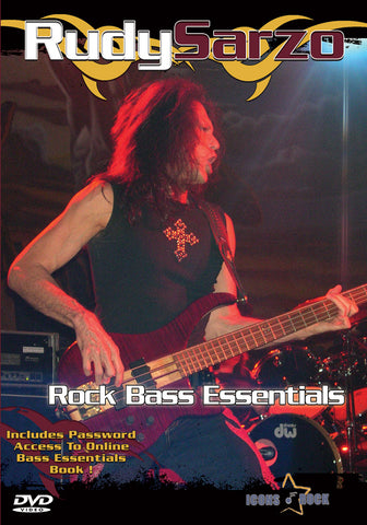 Rudy Sarzo Rock Bass Lessons