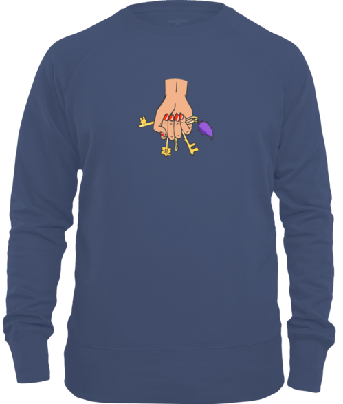 Need A Hand - Keys Unisex Sweater