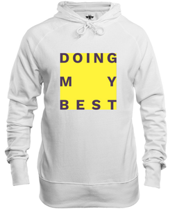 Doing My Best Big Yellow Box Unisex Hoodie