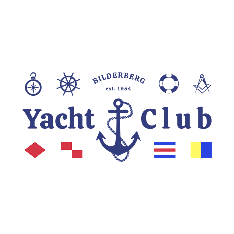 Yacht Club White Unisex Sweater