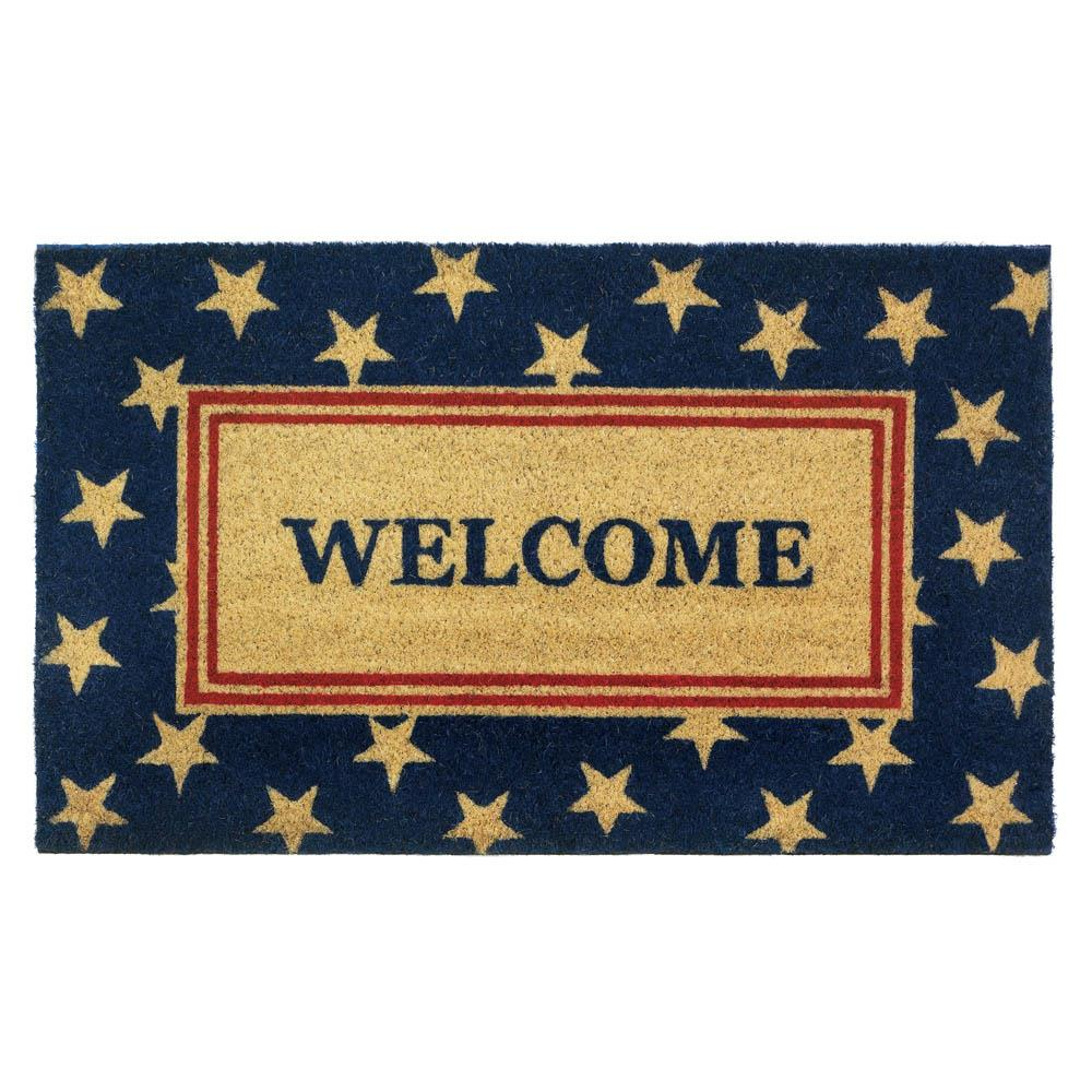 Patriotic Welcome Mat