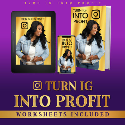 IG Into Profit eBook With Worksheets