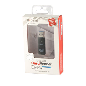 Card Reader USB 3.0 Xtreme Lettore Schede SD SDHC SDXC MiscroSD