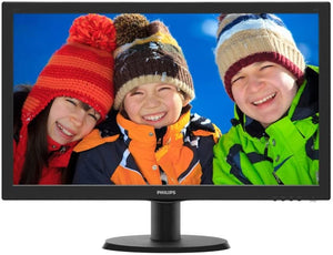 "Monitor PC Philips 23,6"" LED Full HD 243V5QHSBA"