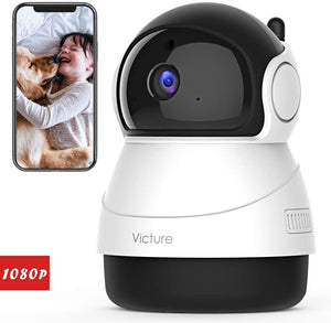Videocamera IP Wireless Interno Telecamera Victure FHD 1080p