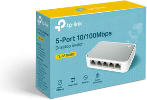 Switch 5 Porte TP-Link TL-SF1005D 10/100MBPS