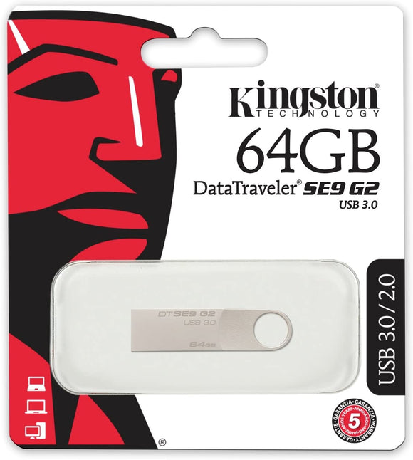 PEN DRIVE 64GB KINGSTON DTSEG2/64GB USB3.0