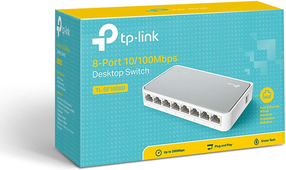 Switch 8 Porte TP-Link TL-SF1008D 10/100MBPS
