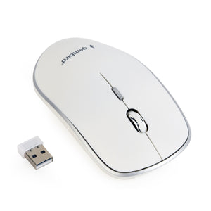 Mouse Wireless Gembird - Bianco MUSW-4B-01-W