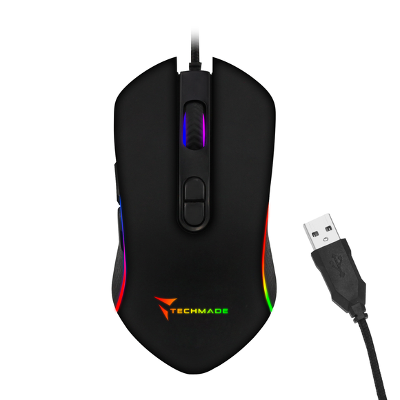 MOUSE USB GAMING LIV.2 TECHMADE TM-PG-64