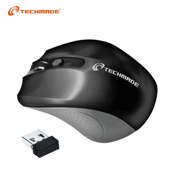 Mouse Wireless Techmade - Nero TM-XJ30-BK