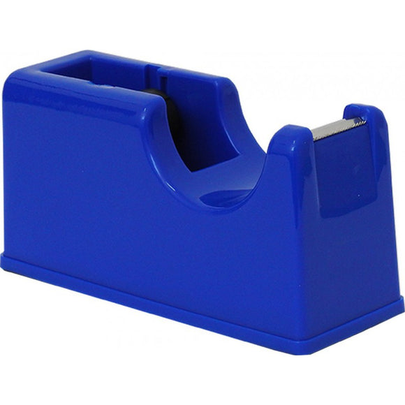 PORTA ROTOLO SCOTCH DISPENSER DA BANCO BLU SPIL