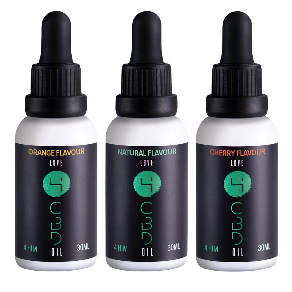 4 HIM - Tincture Bundle (1000mg CBD)