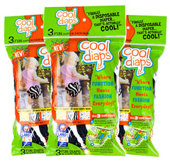 Cool Diaps–3 Fun Diaps in Each Pack | OUT OF STOCK