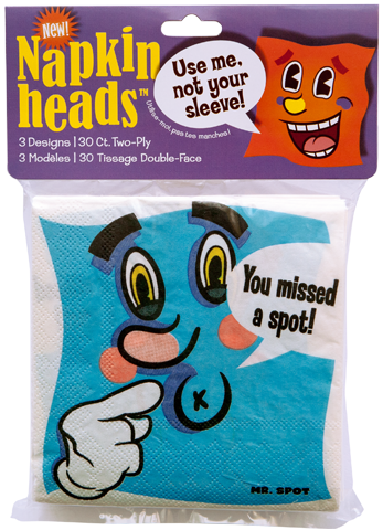 NEW!  Napkin Heads™