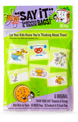Say It Sandwich Bags™ | Say It Snack Bags™